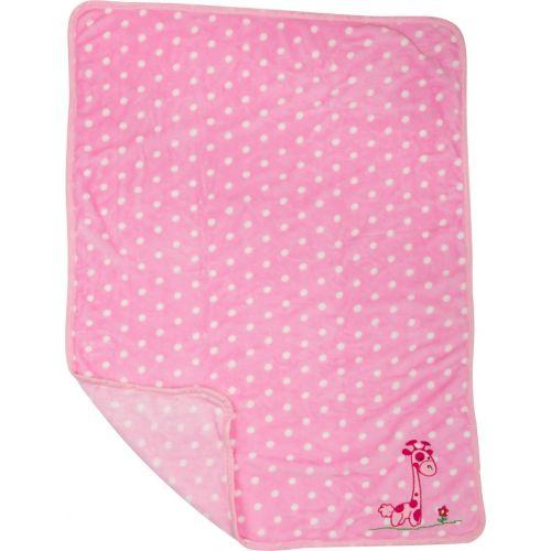 Mantita para Bebé Rosa Jirafa - 100 x 80 cm