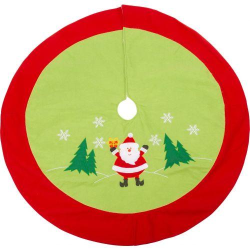 Manta para árbol de Navidad, Santa Claus