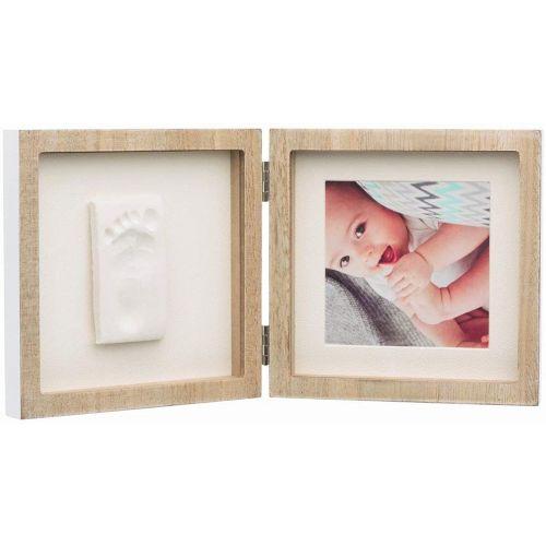 Baby Art Marco de fotos de madera 2 piezas