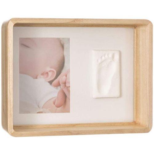 Baby Art Marco de fotos de Madera con Kit de Huellas para Bebé