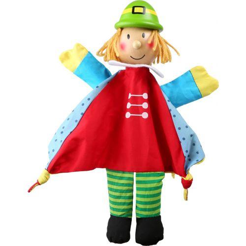 Marioneta de tela y madera Príncipe