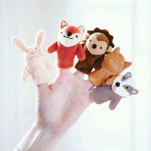 Marionetas Titeres de dedo - Animales del Bosque