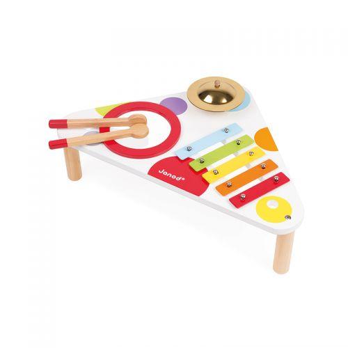 Mesa musical de madera Confeti , Janod