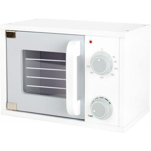 Microondas de madera para cocina infantil