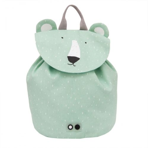 Mini mochila infantil Oso Polar , Trixie - 23 x 20 cm