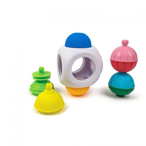 Mini Cubo y 4 Perlas - 9 Piezas , Lalaboom