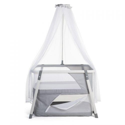 Minicuna Plegable de Aluminio Blanca - Childhome  - PRECIO LIQUIDACIÓN
