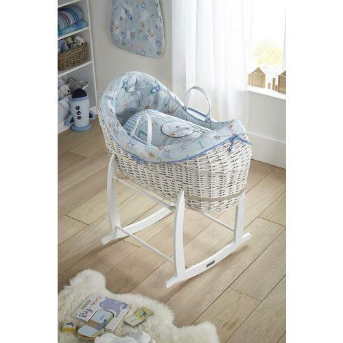 Moises Bebé de Mimbre Blanco Forty Winks Noah Pod - Clair de Lune