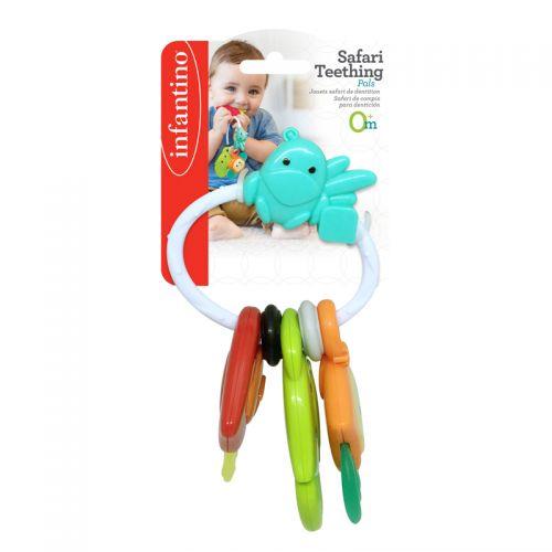 Mordedor Llaves Safari Infantino con ´múltiples texturas
