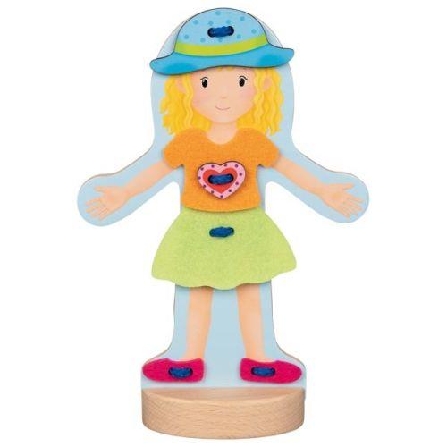 Muñeca de madera para Vestir , Goki