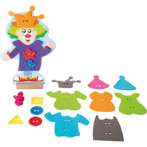 Muñeco para Vestir Payaso- Juego Creativo