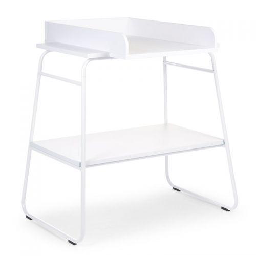 Mueble cambiador Blanco para Bebé de Metal y Madera – Childhome