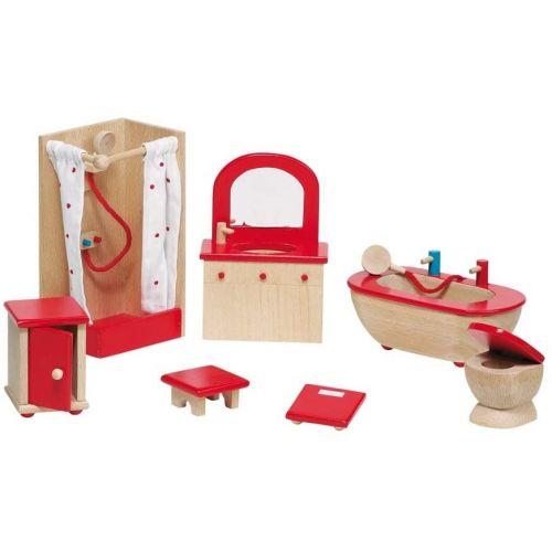 Muebles para cuarto de baño casa de muñecas , Goki