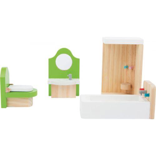 Muebles de baño para casita de muñecas
