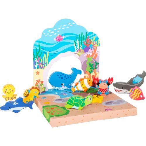 Juguete Mundo Submarino - Legler
