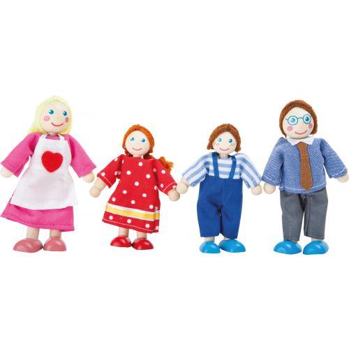Muñecos flexibles, Familia