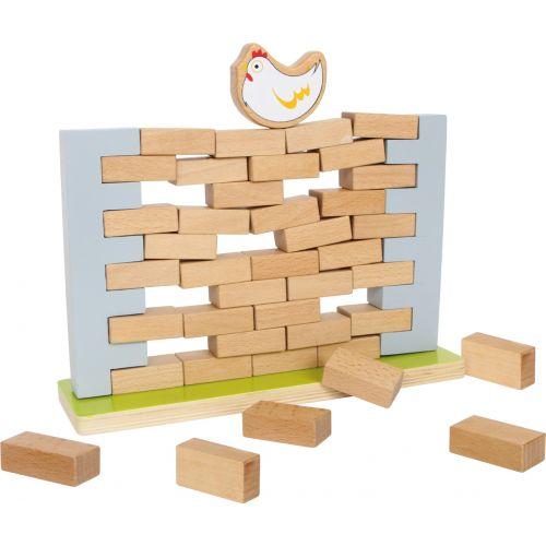 Muro tambaleante - Juguete de Madera - 3 años +