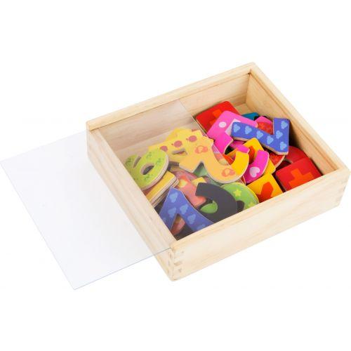 Números magnéticos multicolores - 40 piezas