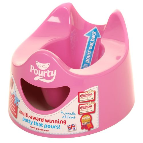 Orinal Infantil Pourty en Color Rosa