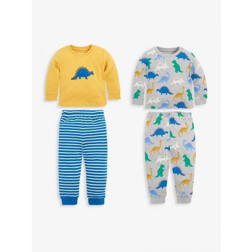 Pack de 2 pijamas para niños Dinosaurios