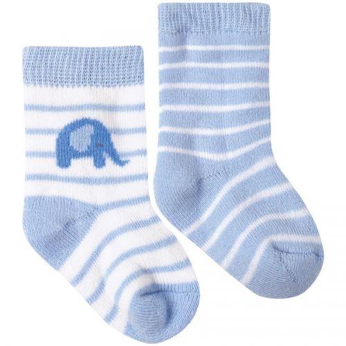 Calcetines a rayas para Bebé - Pack de 2 Unidades