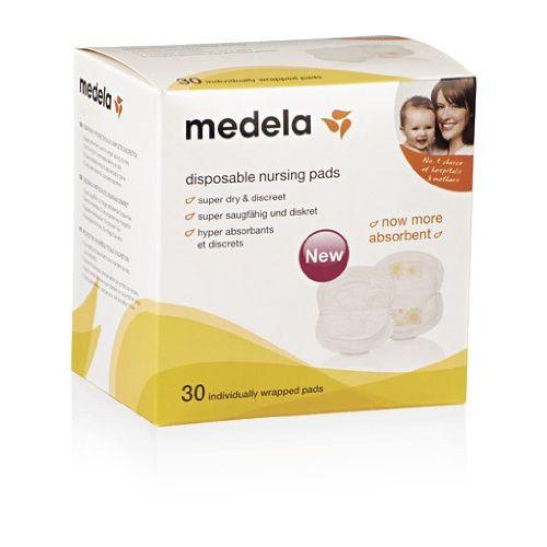 Pack de 30 discos de lactancia desechables de Medela