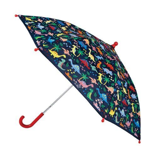 Paraguas para Niño de Dinosaurios - Cambia de color
