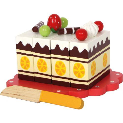 Pastel de Cumpleaños, juguete para Aprender a cortar - 14 piezas