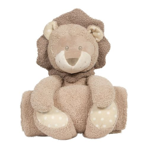 Peluche con Manta Kenzi el León - Bo Jungle
