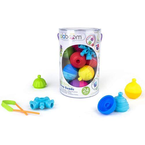 Perlas educativas Lalaboom , 24 unidades, Método Montessori