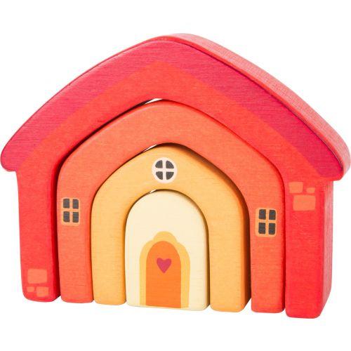 Piezas de construcción Casa - Hecho en madera