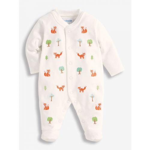 Pijama para Bebés bordado zorritos