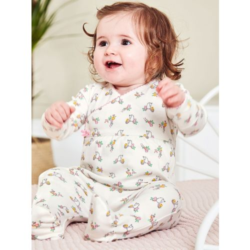 Pijama para Bebé Erizo Floral - hasta 18 meses