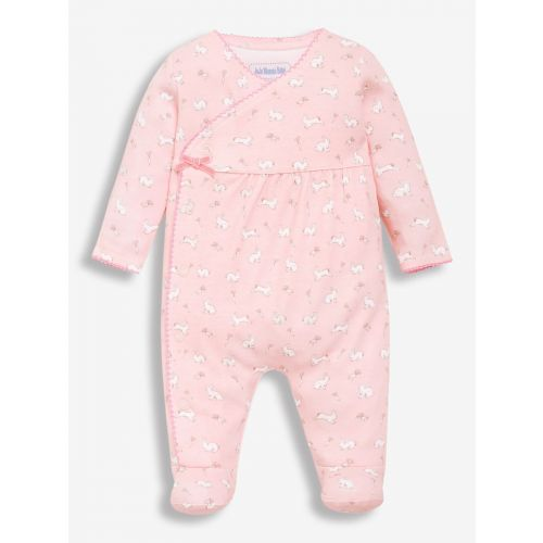 Pijama rosa para Bebé Niña Conejitos