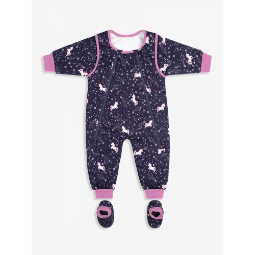 Pijama Manta Bebé y Niña Unicornio - 2.5 Togs - Desde 6 meses hasta 3 años de edad