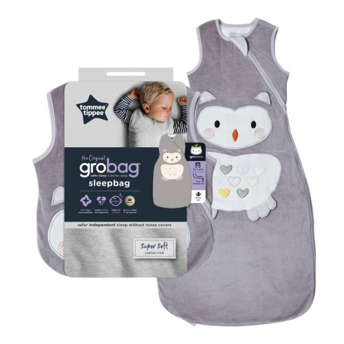 Saco de dormir para Bebés Grobag 2.5 Togs, Ollie el Buho - Tommee Tippee