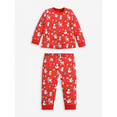 Pijama para Niños Estampado Navideño