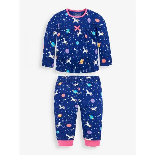 Pijama Unicornios para Niña , Brilla en la Oscuridad
