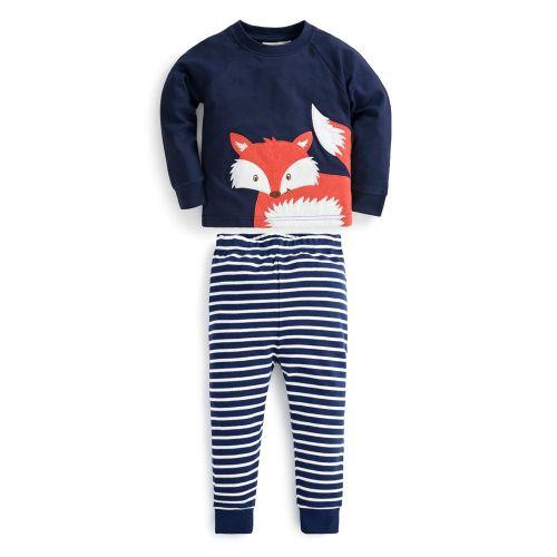 Pijama Invierno para Niños Zorro