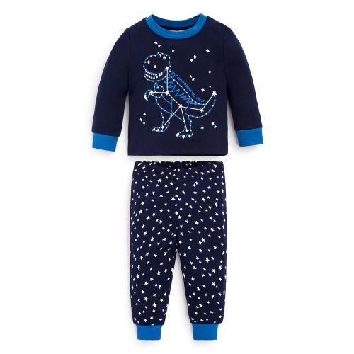 Pijama Niño Dinosaurios - Brilla en la Oscuridad