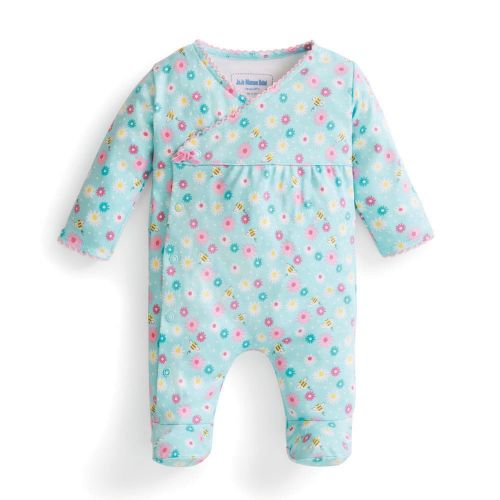 Pijama para Bebé Pequeñas Flores y Abejitas