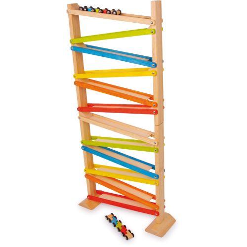 Pista de carreras Click - Clack , juguete de madera
