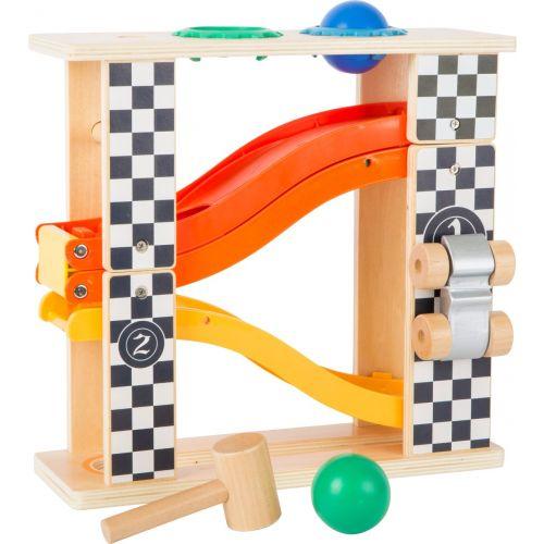 Pista de bolas y  Fórmula 1 - Juguete 2 en 1