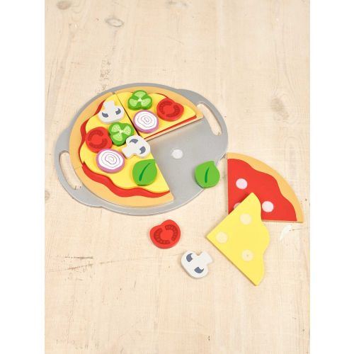 Pizza de madera , Juguete a partir de 3 años