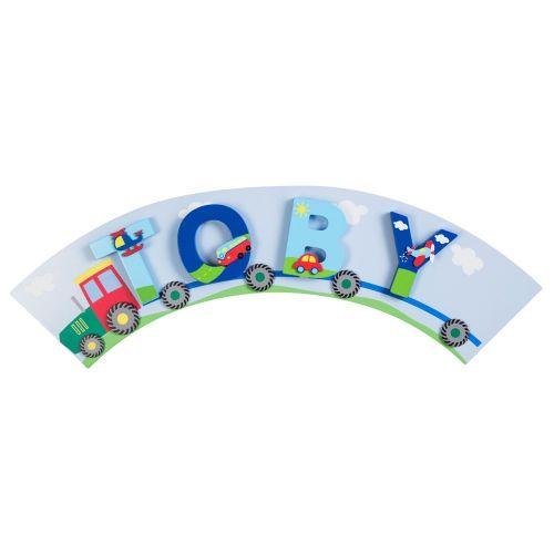 placa para letras de madera infantiles