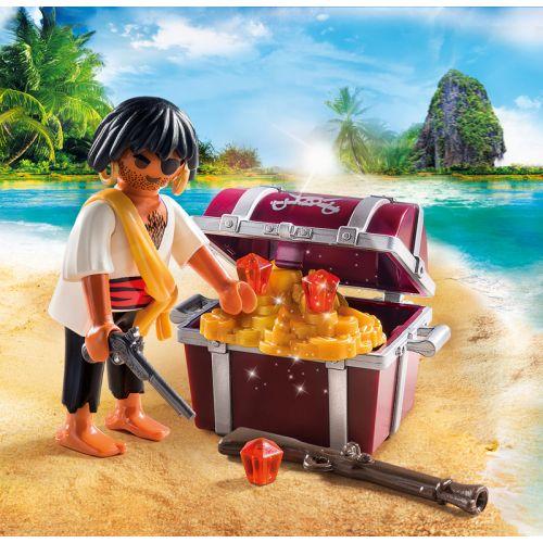 Pirata con Tesoro de Playmobil