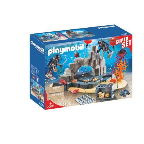 Set de buceo de Playmobil