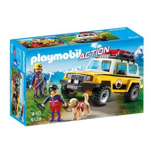 Playmobil - Vehículo de Rescate en Montaña