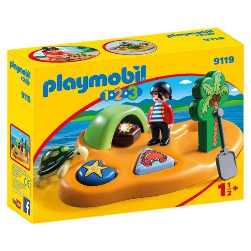 Playmobil 1.2.3 Isla Pirata