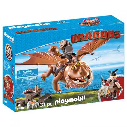 Playmobil Como entrenar a tu Dragón Fishlegs y Meatlug